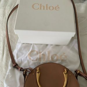 "Authentic Chloe ""Pixie"" cross body/long strap bag"